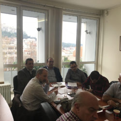 Στην Αθήνα για έργα του ΕΣΔΑΚ προϋπολογισμού άνω των 100 εκ. ο Χάρης Μαμουλάκης
