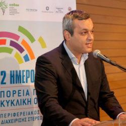 Στην Αθήνα για το Περιβαλλοντικό Πάρκο Κυκλικής Οικονομίας και έργα του Λασιθίου ο Χάρης Μαμουλάκης