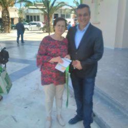 Οι κάτοικοι της Ν. Αλικαρνασσού αγκάλιασαν την τσάντα πολλαπλών χρήσεων του Ε.Σ.Δ.Α.Κ.